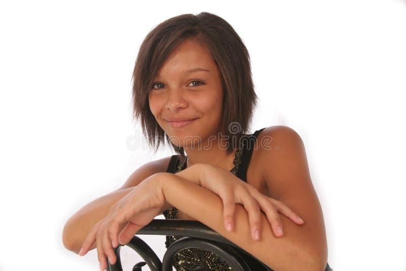 красивейшая biracial девушка стоковые фото