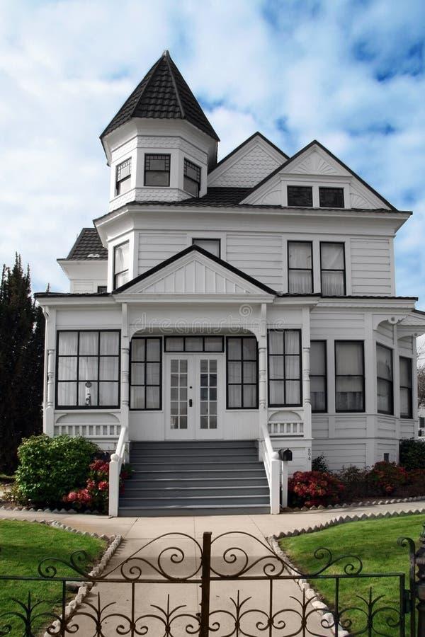 красивейшее викторианец дома стоковая фотография rf