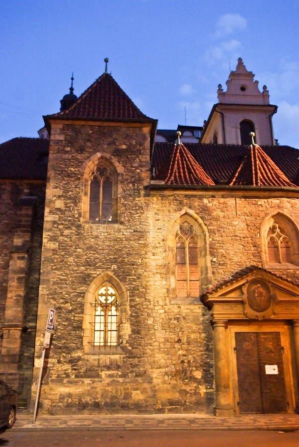 Красивейшее историческое здание Прага стоковое изображение rf