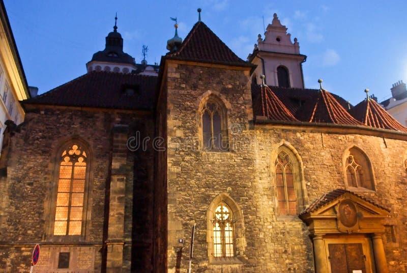 Красивейшее историческое здание Прага стоковые изображения rf