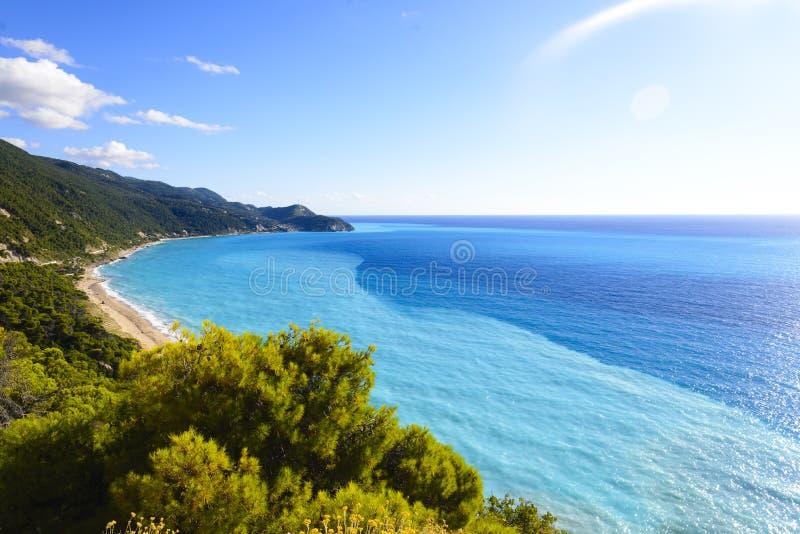 красивейшее море тропическое стоковая фотография rf