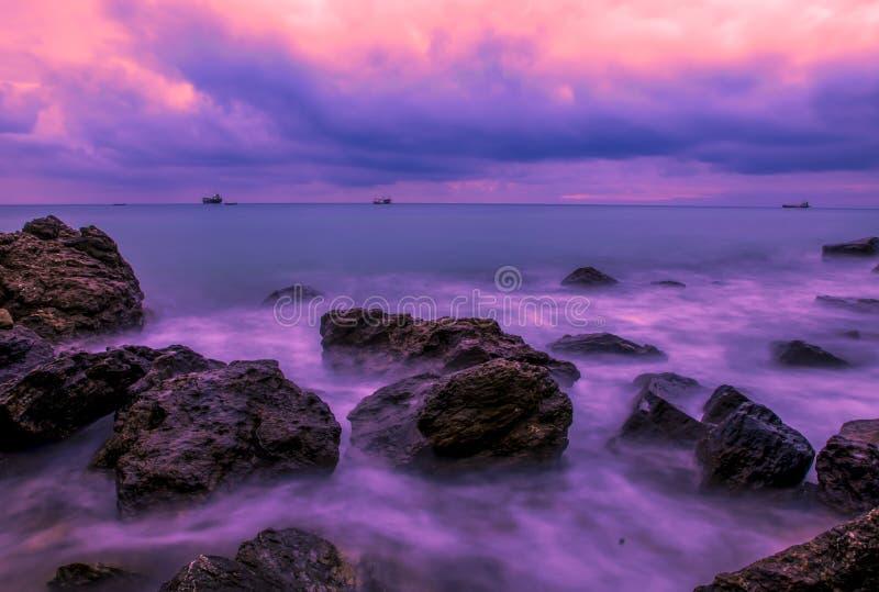 Красивейшее море стоковая фотография rf