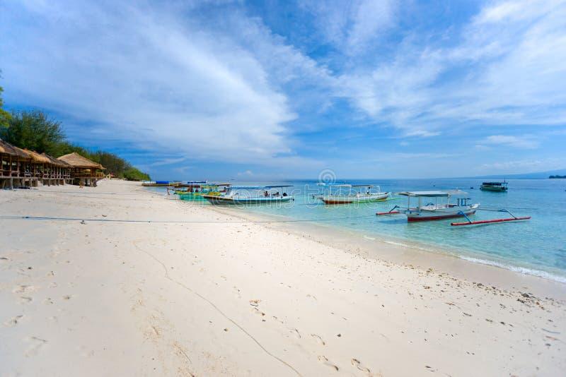 красивейшее море meno Индонесии gili стоковые изображения