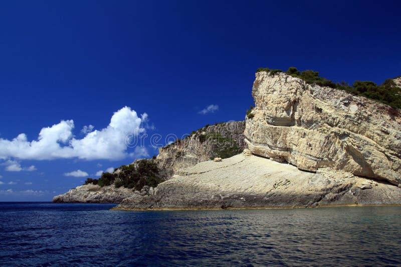 красивейшее море zakynthos Греции ionian