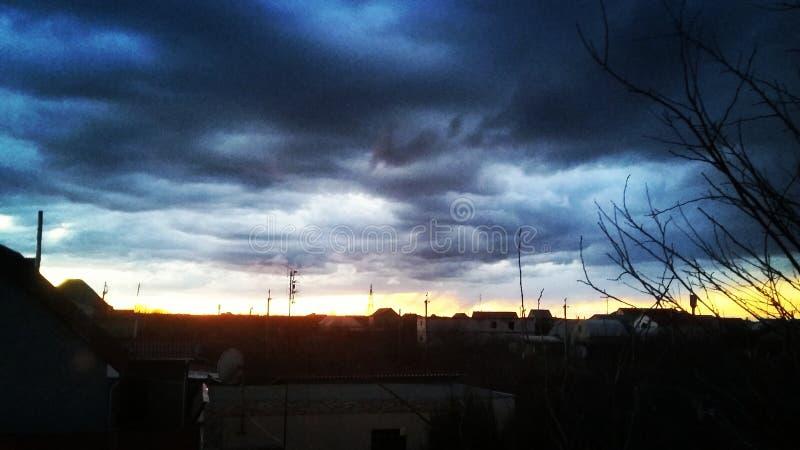 Красивейшее небо стоковое изображение rf