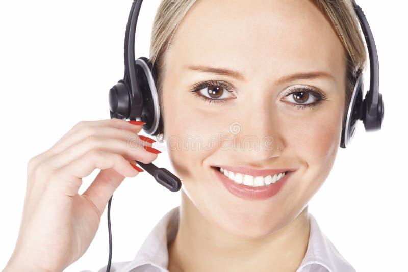Download красивейшее обслуживание оператора клиента Стоковое Изображение - изображение насчитывающей agata, жизнерадостно: 18384547