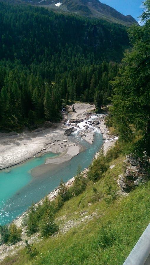 красивейшее река стоковая фотография rf