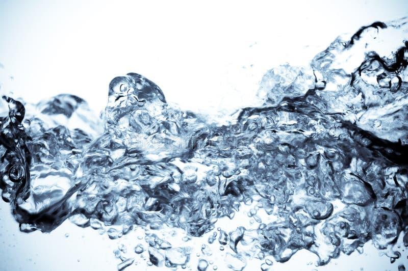 красивейшее чистое брызгает воду стоковая фотография