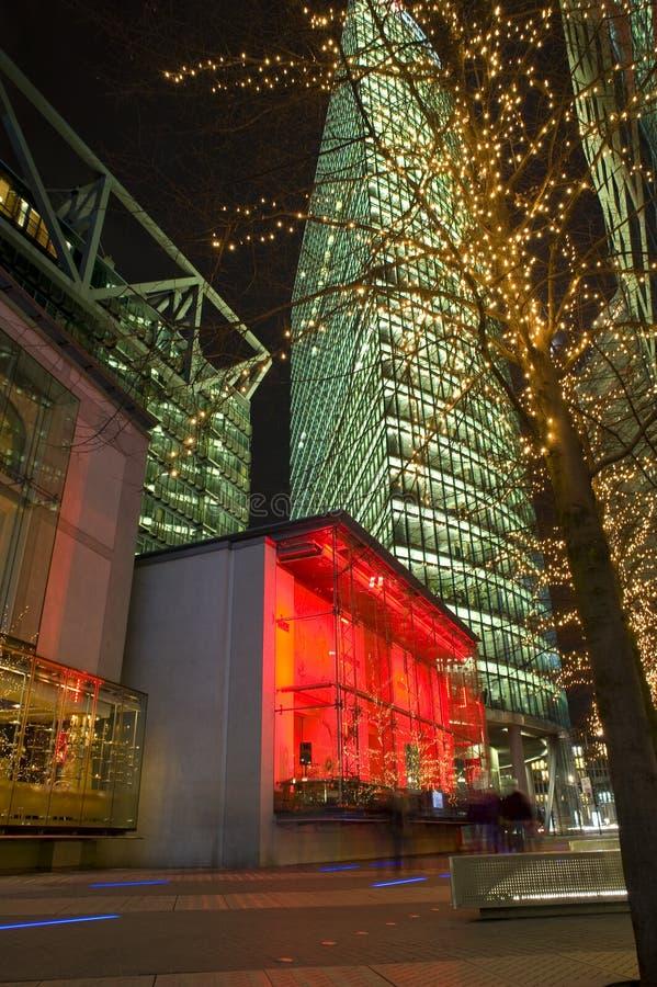 красивейшее sonycenter berlin стоковое фото