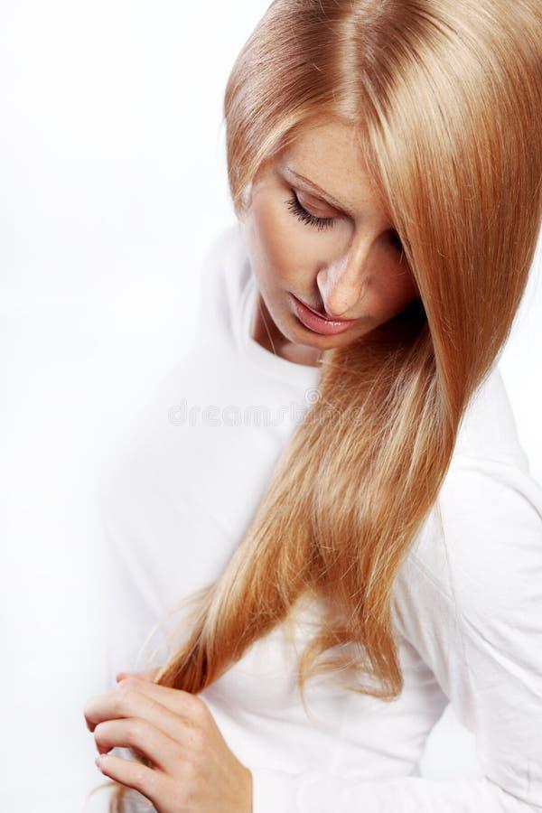 красивейшие волосы стоковое фото rf