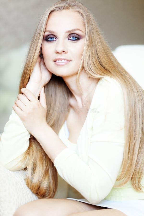 красивейшие волосы стоковое изображение