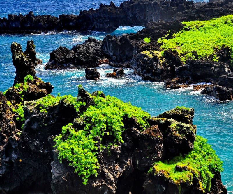 красивейшие Гавайские островы стоковая фотография rf