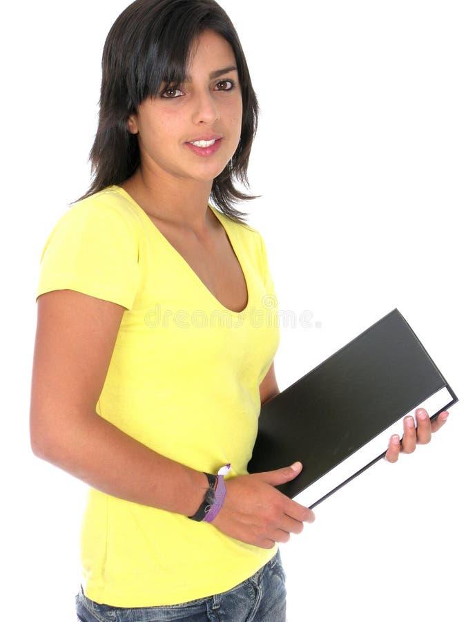 красивейшие детеныши женского студента стоковые изображения