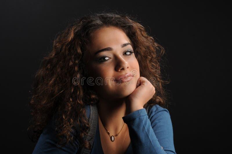 красивейшие детеныши женщины портрета s стоковые изображения