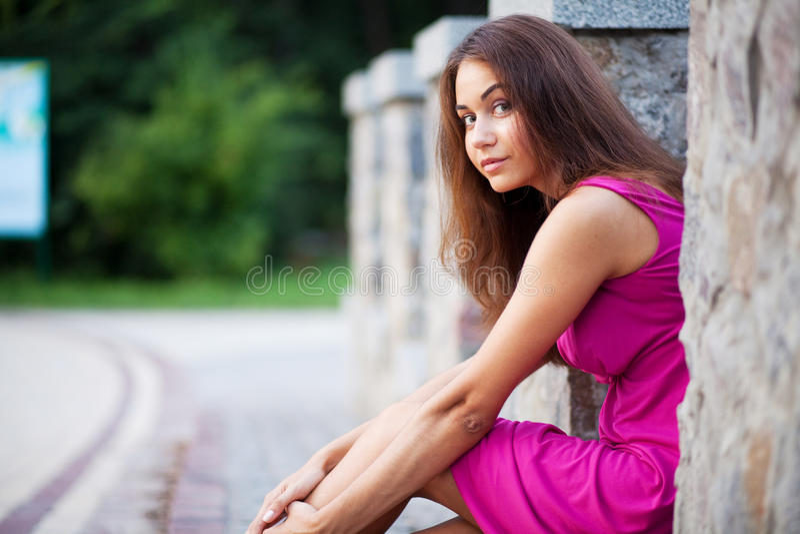 красивейшие детеныши женщины стоковые изображения