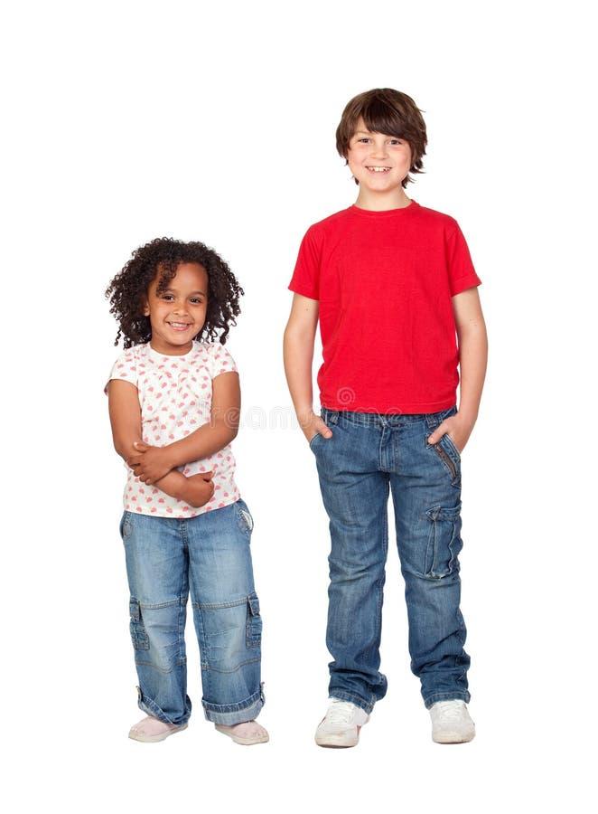 красивейшие дети 2 стоковое изображение