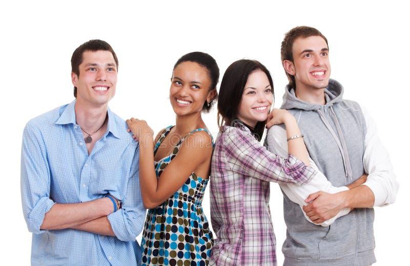 красивейшие друзья счастливые стоковые изображения rf