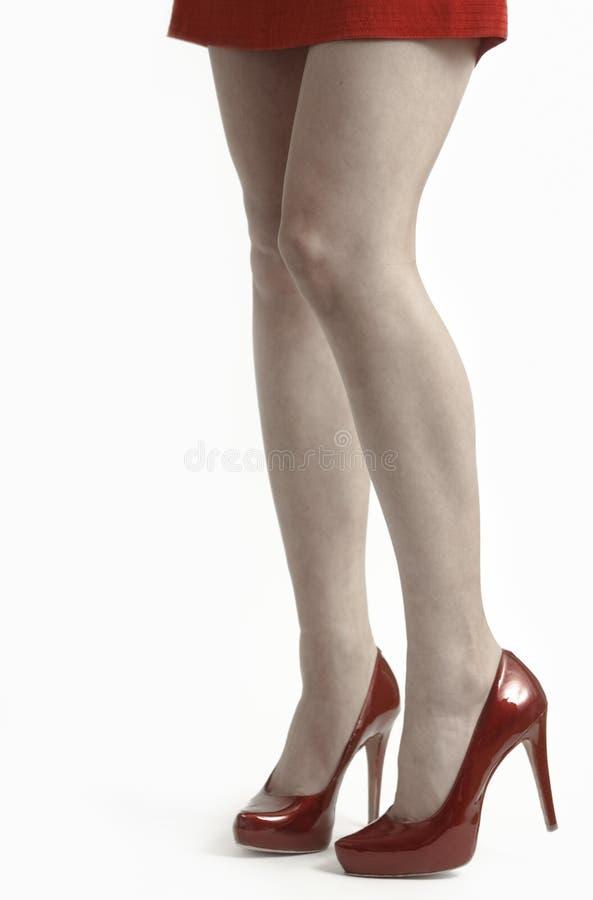 красивейшие женские ноги стоковые фотографии rf