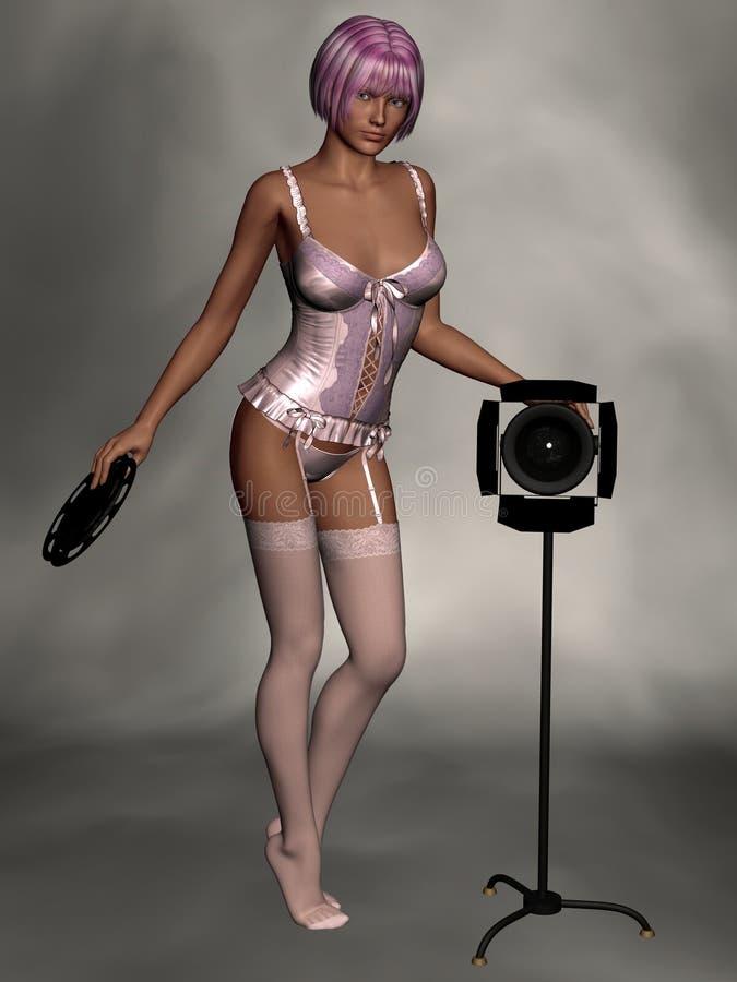 Download красивейшие женщины женское бельё Иллюстрация штока - иллюстрации насчитывающей сексуально, lingerie: 6867178