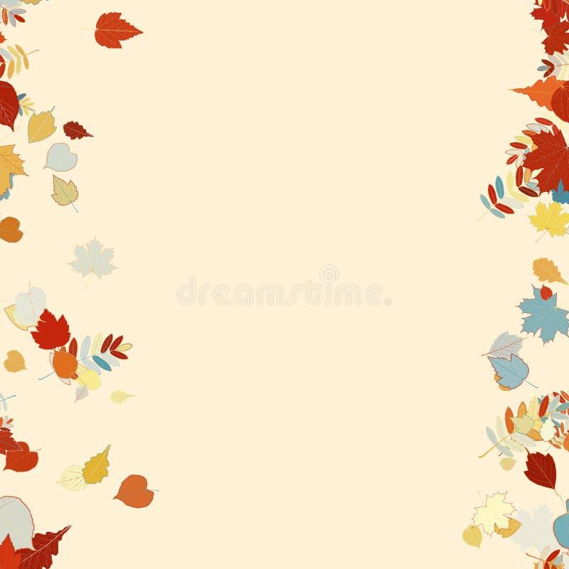 Красивейшие листья осени бесплатная иллюстрация