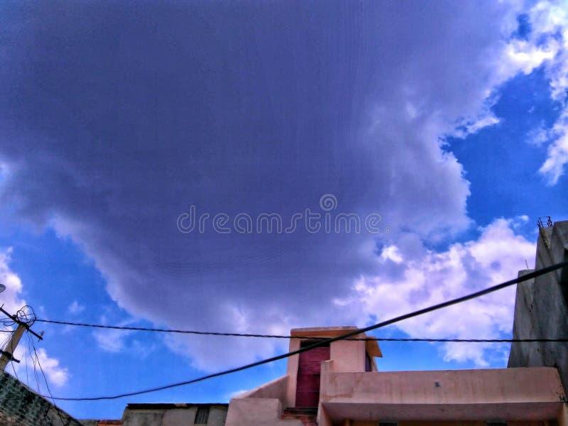 Красивейшие небеса стоковые фотографии rf