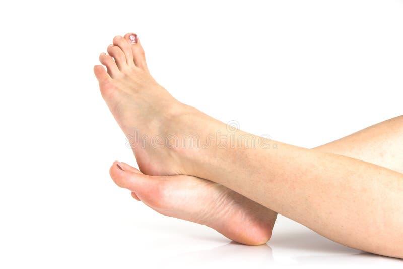 Красивейшие ноги женщины стоковое изображение rf