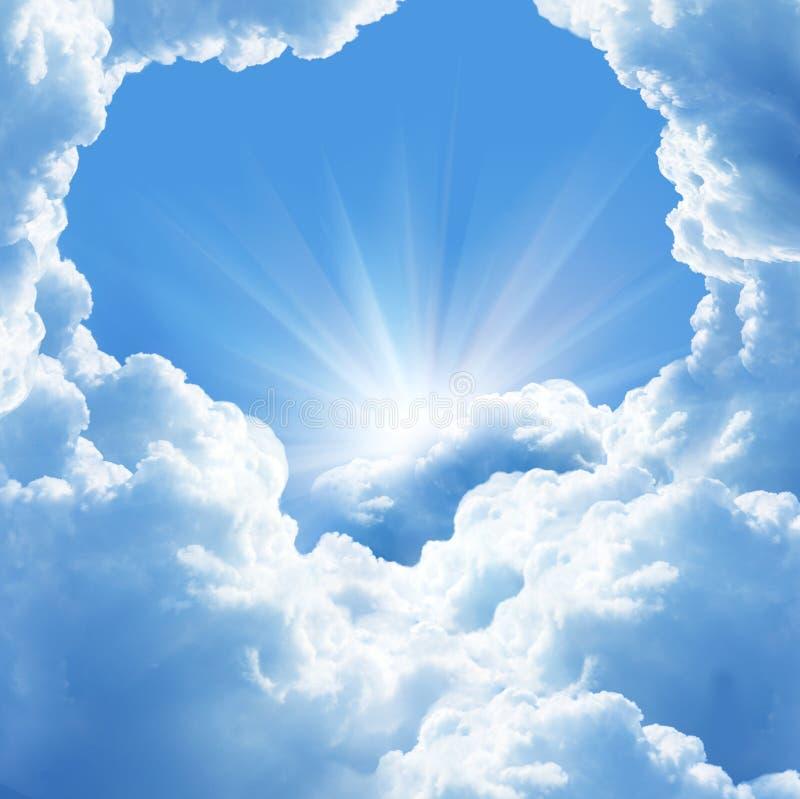 красивейшие облака стоковые фотографии rf