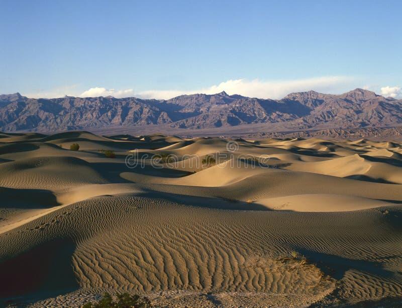 красивейшие образования дюны смерти зашкурят долину стоковая фотография rf