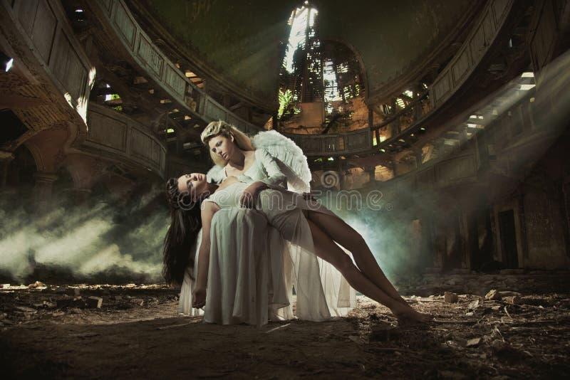 красивейшие повелительницы 2 стоковое изображение