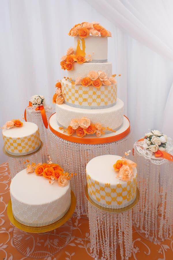 красивейшие торты wedding стоковые фотографии rf
