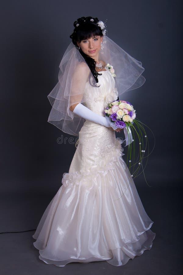 красивейшие черные невесты волос детеныши длиной стоковые фотографии rf
