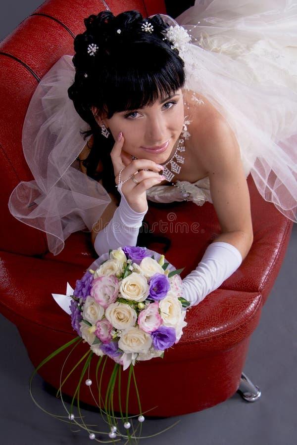 красивейшие черные невесты волос детеныши длиной стоковые изображения rf