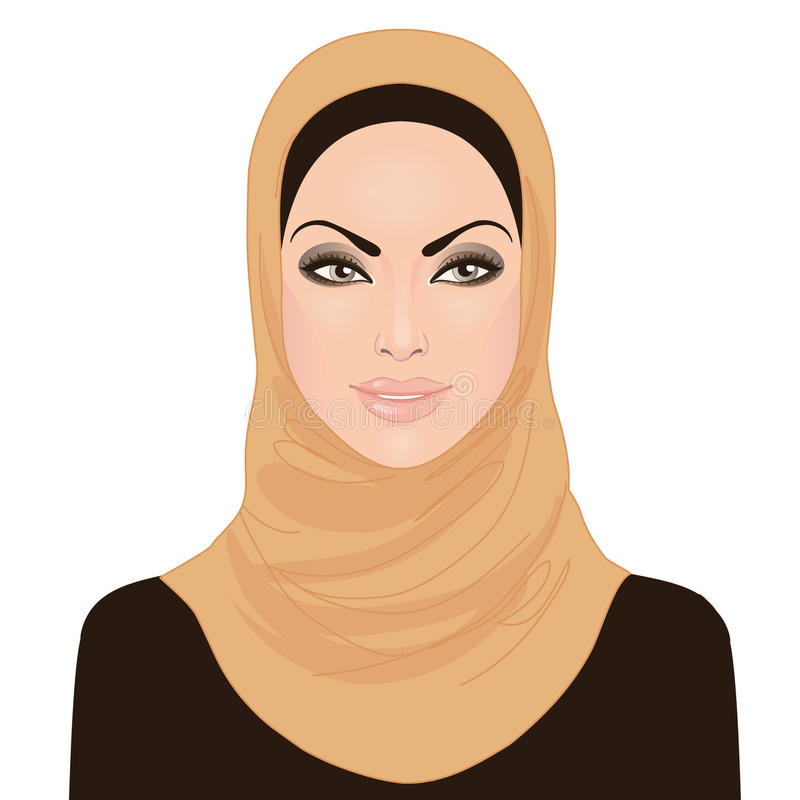 красивейшие muslim hijab девушки бесплатная иллюстрация