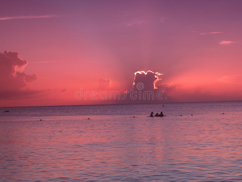 красивейший взгляд океана стоковые фото