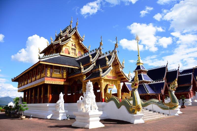 красивейший висок Таиланд стоковые фото