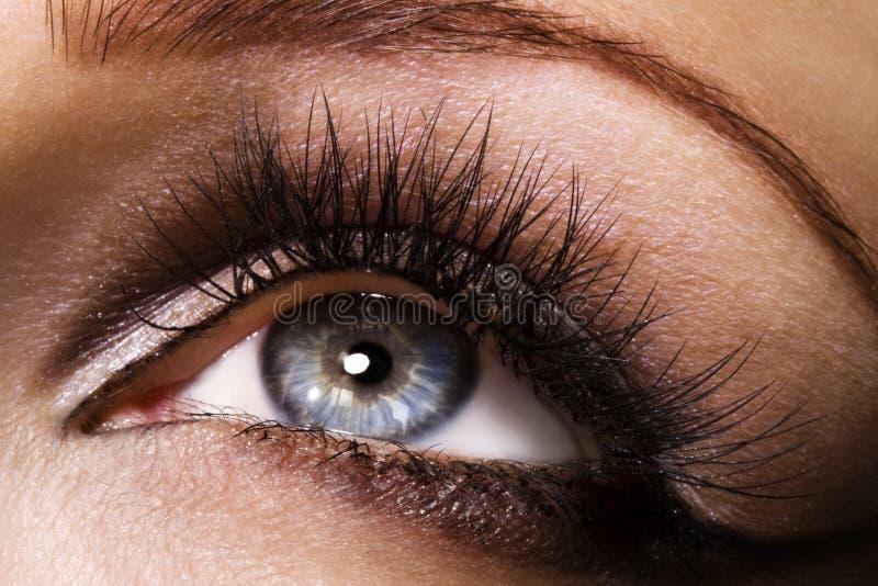 красивейший глаз стоковое изображение rf