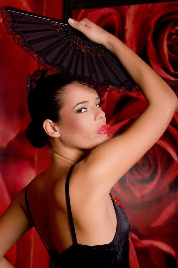 красивейший испанец девушки стоковая фотография
