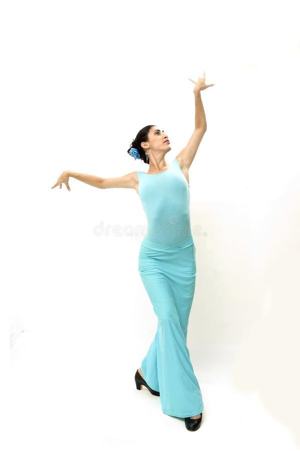 красивейший испанский язык танцора стоковые фото
