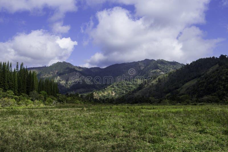 красивейший ландшафт сельской местности стоковое изображение rf