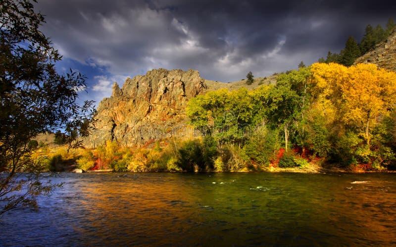 красивейший ландшафт стоковые изображения rf