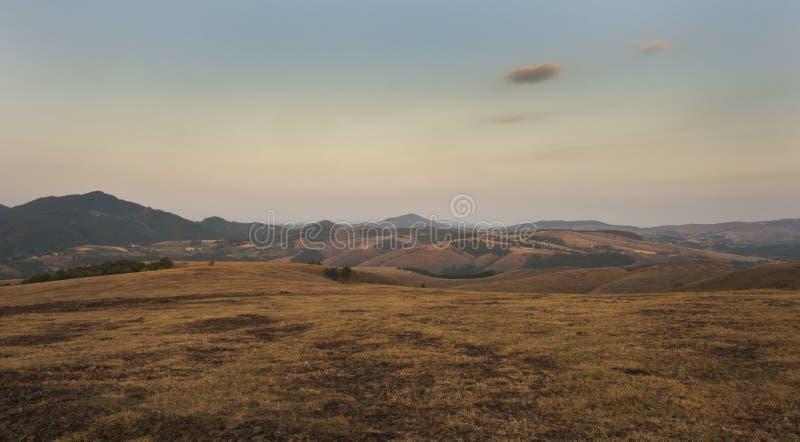 Красивейший ландшафт Divcibare стоковое изображение