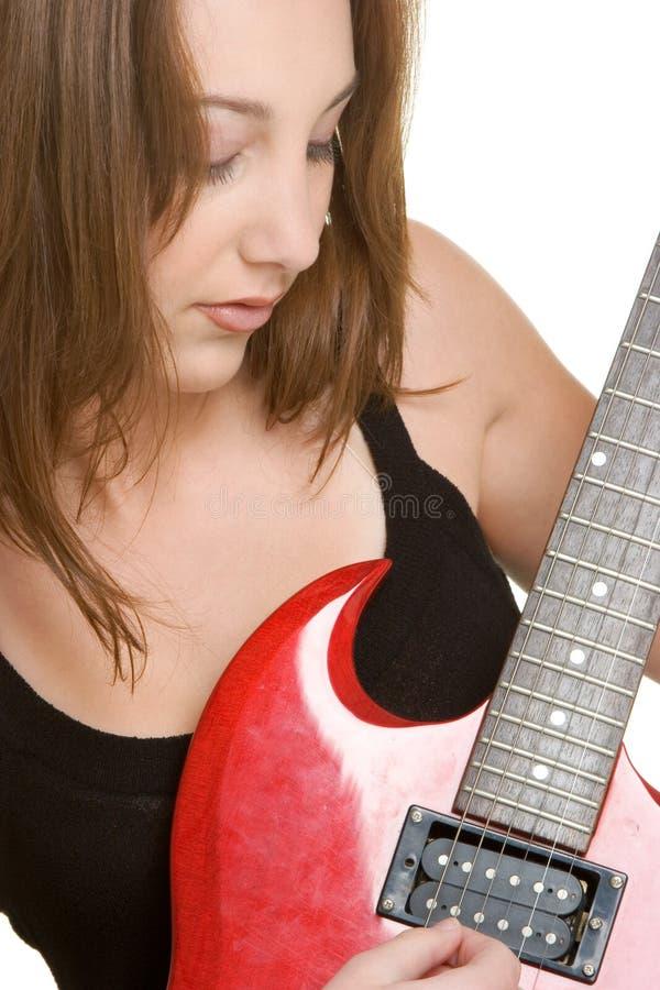 красивейший музыкант стоковое фото