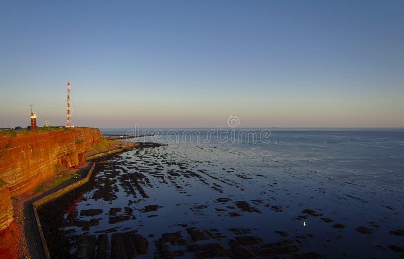 красивейший немецкий остров helgoland стоковая фотография