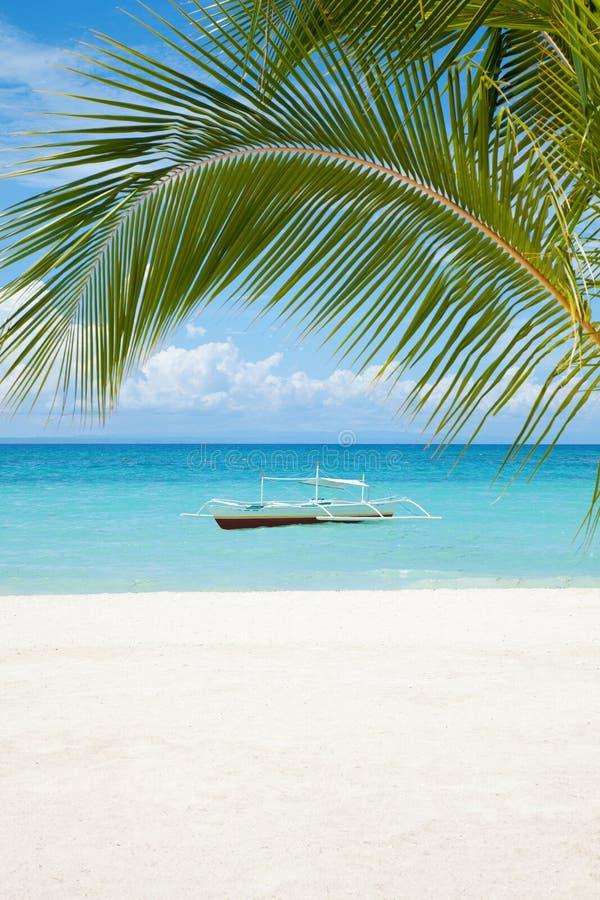 Красивейший пейзаж пляжа стоковая фотография