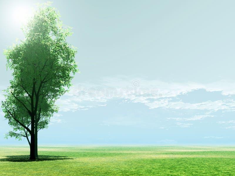 красивейший пейзаж бесплатная иллюстрация