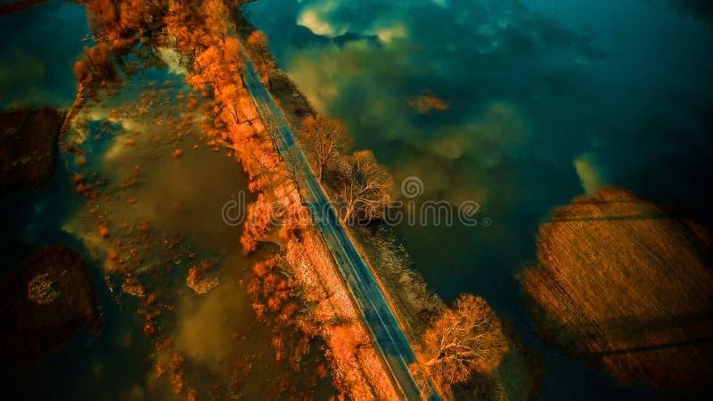 красивейший пейзаж стоковое изображение rf