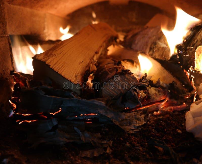 красивейший пожар стоковая фотография rf