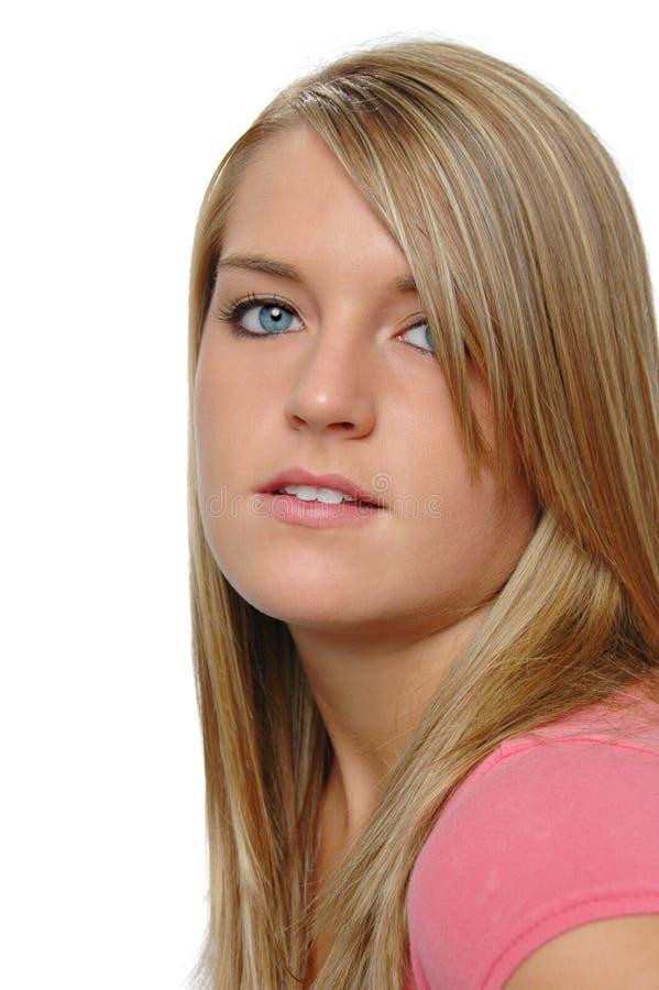 красивейший портрет девушки предназначенный для подростков стоковые изображения rf