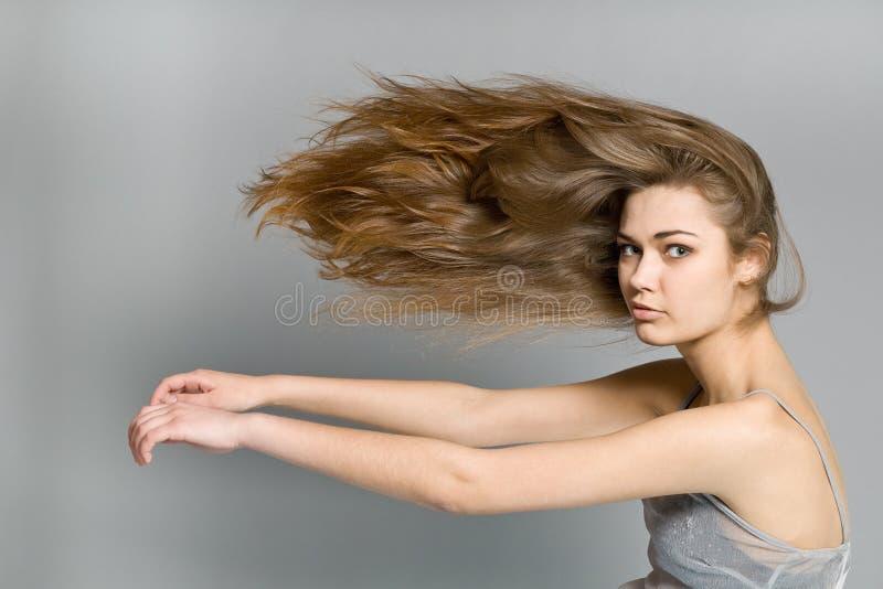 красивейший портрет девушки стоковые изображения