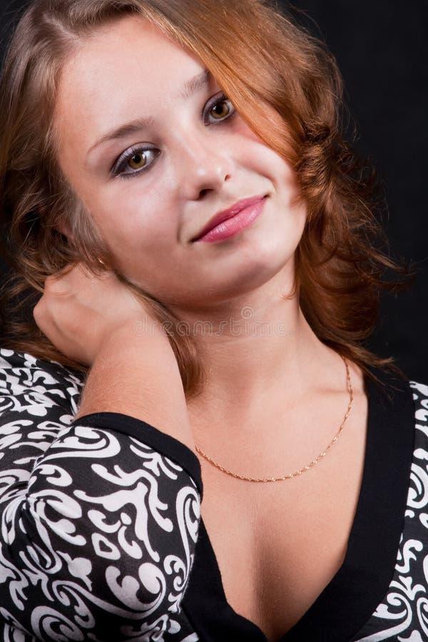 красивейший портрет девушки 6 стоковая фотография